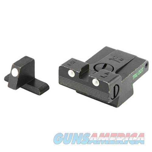 Meprolight 21516 Tru-Dot Night Sight Set Hk Usp Full Size/Expert/Tactical  Tritium Green Tritium Green Black ML21516