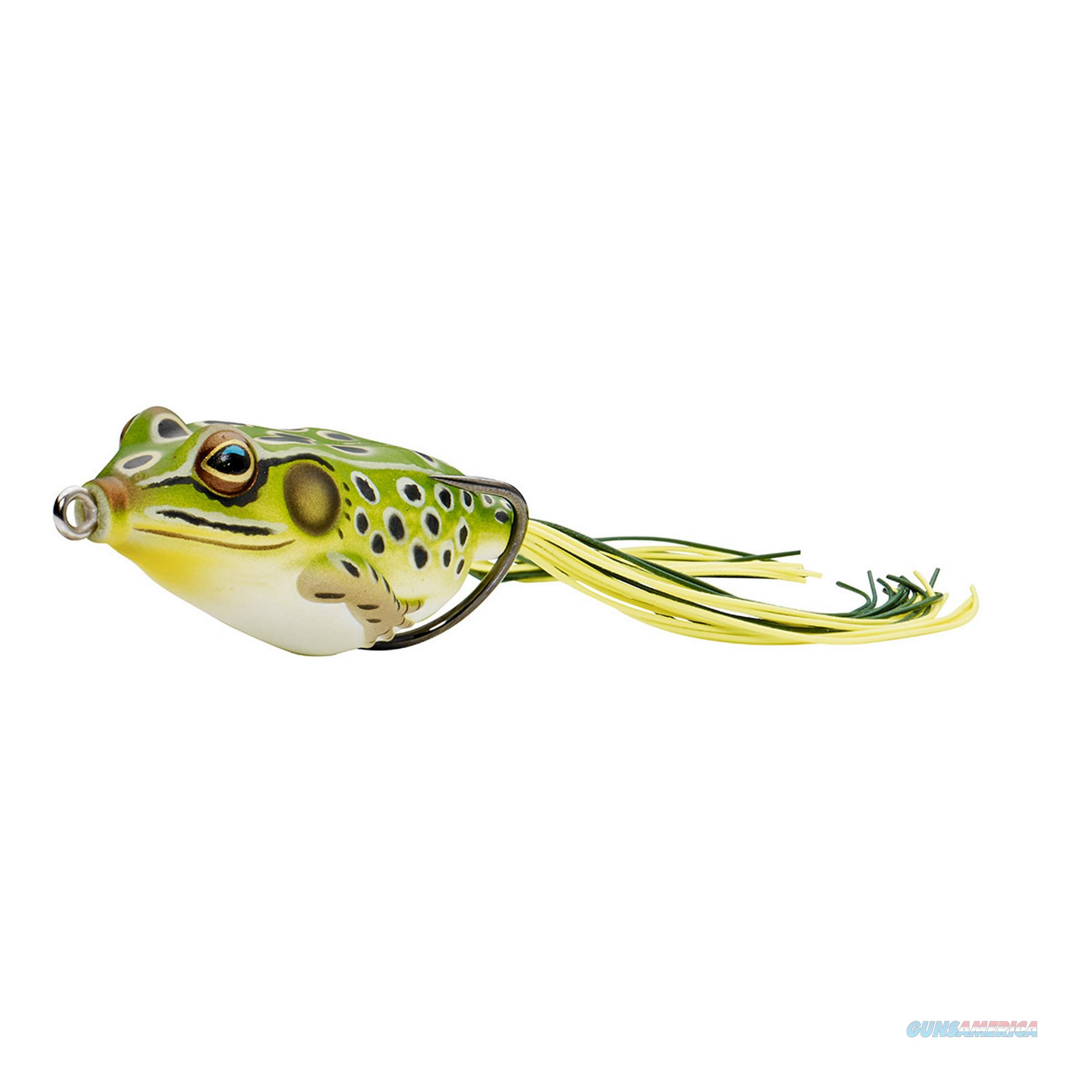"NEW Koppers Hollow Body Frog Floating 2-5//8/"" Green//Yellow FGH65T500"