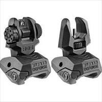 Mako Group Flip Up Sights Front Rear Set FRBS-B