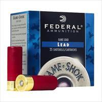 "Federal H12675 Game-Shok High Brass Lead 12 Gauge 2.75"" 1-1/4 Oz 7.5 Shot 25 Bx/ 10 H12675"