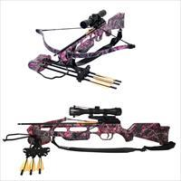 Sa Sports Fever Muddy Girl Crossbow Package - 175Lb Pink 626