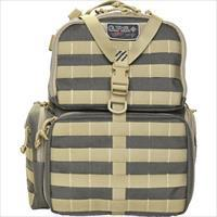 Goutdoors, Inc. Tactical Range Backpack W/Waist Strap Rifle Grn/Khaki GPS-T1612BPRK