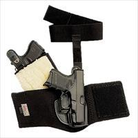 "Galco Ag204b Ankle Glove Holster Fits Ankles Up To 13"" Walther Ppk Steerhide Black AG204"