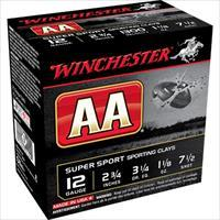 "Winchester Ammo Aasc127to Aa Traacker 12 Gauge 2.75"" 1-1/8 Oz 7.5 Shot 25 Bx/ 10 Cs AASC127TO"