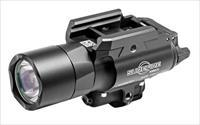 Surefire X400uagn X400 Ultra Weaponlight With Green Laser 500 Lumens Cr123a Lithium (2) Black X400UAGN