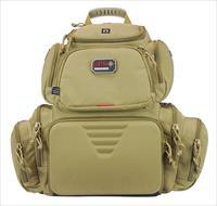 G*Outdoors 1711Bpt Handgunner Tan Range Bag/Backpack GPS-1711BPT