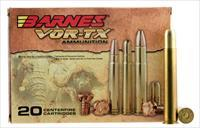 Barnes 22033 Vor-Tx 500 Nitro Express Round Nose Banded Solid 570 Gr 20Box/10Cs 22033