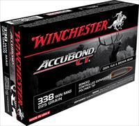 Winchester Ammo S338ct Supreme 338 Winchester Magnum 225 Gr Accubond Ct 20 Bx/ 10 Cs 020892214484