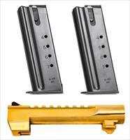 "Magnum Research Bmcp506g Desert Eagle Mark Xix Conversion Kit 6"" Barrel 2 Magazines 7Rd 24K Gold BMCP506G"