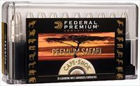 Federal P470t1 Cape-Shok 470 Nitro Express Tb Bear Claw 500 Gr 20Box/10Case P470T1