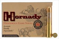 Hornady 8264 Dangerous Game 470 Nitro Express 500 Gr 20 Bx/ 6 Cs 8264