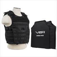 "Nc Star Expert Plate Carrier Vest With 11"" X 14"" Soft Panels BSLCVPCVX2963B-A"