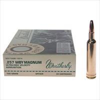 Weatherby Ammo 257Wby 100Gr Sp Horn 747115010189