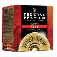 "Fed Pf20475 Wing-Shok High Velocity Lead 20Ga 2.75"" 1Oz 7.5 Shot 25Bx/10Cs PF204 7.5"