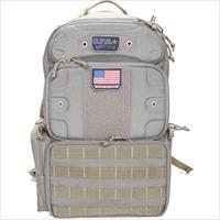 Goutdoors, Inc. Tactical Range Backpack Tall W/Waist Strap Tan Nylon GPS-T1913BPT