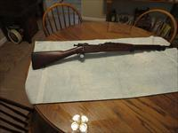 1908 Rock Island Arsenal M1903 30-06 Rifle w/10-30 Springfield Barrel, Excellent Bore Rifling and Stock Condition