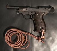 Walther P38, AC 42 Capture with Holster, Lanyard and Papers