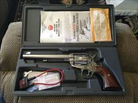 Ruger Stainless Single Action .44MAG Vaquero Revolver