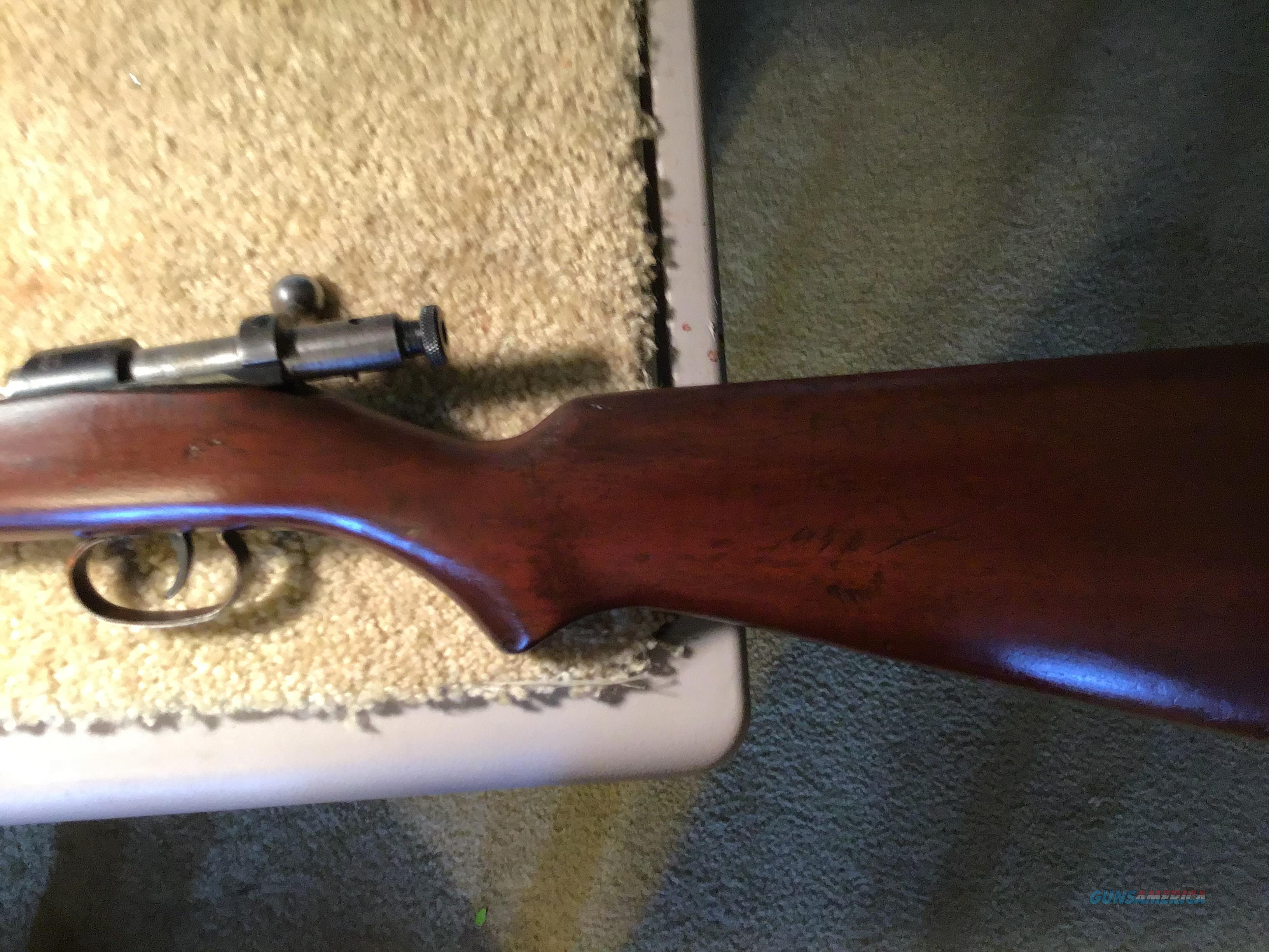 1950 Czech BRNO Single Shot Bolt Action  22LR rifle