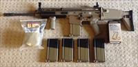 FN FNH SCAR 17.SCAR-H Battle Rifle In FDE