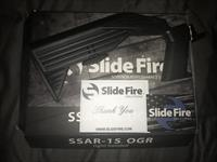 Slide Fire -SSAR-15 OGR Right Handed -New in Box
