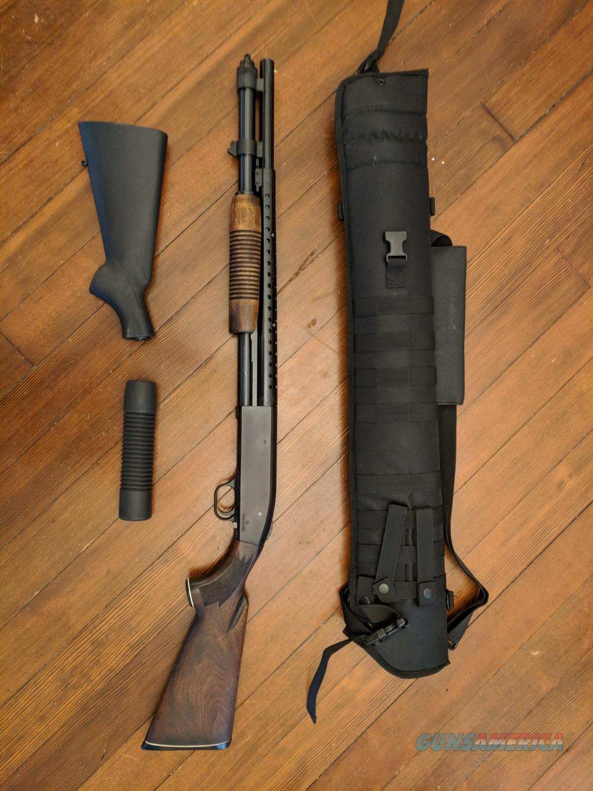 Mossberg 590 SP + Wood Furniture - Never Fired