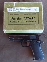 Star BM 9mm pistol Named Box collectable