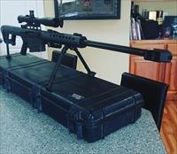 Barrett M107.50 BMG BLACK W/ Nightforce 5 Scope.