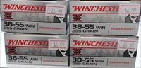 4 Boxes of Winchester 38-55 255 GR. Ammo
