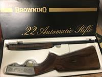 Browning Automatic .22 Rifle Grade II Miroku Japan Mfg
