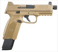 FN 509 Tactical 9mm, Optic ready, 17+24 rd. mags