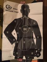 Colt Firearms POLICE FBI Shooting Target Practice