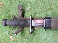 Colt ar-15/M16 Bayonet with Scabbard Made in Germany