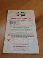 OEM Original Mossberg Models 500, 835 & 590 Pump Action Shotguns Owner's Manual