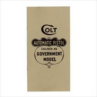 Colt 1911 .45 Government Model Manual