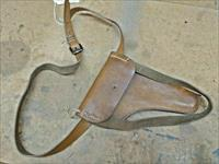 WWII Era Leather Gun Holster