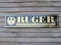 Ruger Re-Production Sign Free Shipping