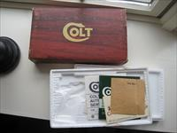 Colt Combat Commander Box Insert And Paperwork 1978