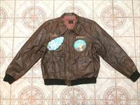 WW2 Leather Bomber Jacket U.S. Army Air Force