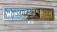 Winchester Re-Production Sign Free Shipping