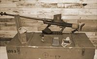 Boys Mk1 .55 Calibre anti-tank rifle + Ammunition and Magazines!