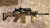FN SCAR 17S FDE 308/7.62 W/Vortex Scope + 11-20rd mag
