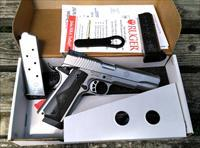 NEW Ruger SR1911 Target Stainless 45ACP ko