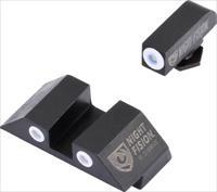 Night Fision Tritium White Dot - Square Rear Glock 20-41 Set