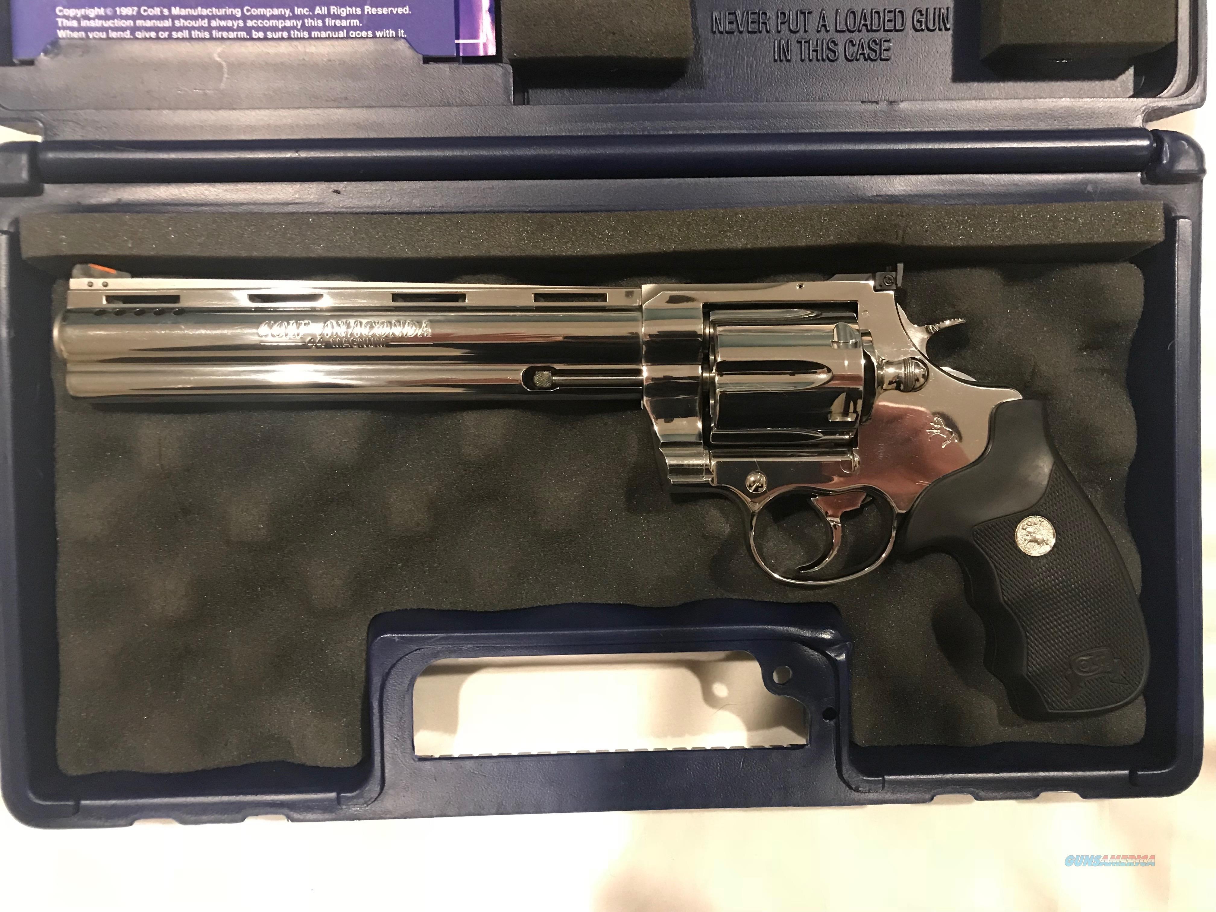 """Colt Anaconda 8"""" PDT"""