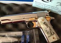 Colt 1911 .38 Super El Matadore Limited Edition.