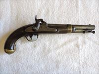 Model 1842 Dated 1849 H. Aston, .54 Cal. Percussion Musket Pistol