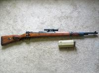 WWII German K98k Zf.41 Sniper Rifle Mauser byf-45 Rare French Capture Nazi-Marked K98 98k & Scope