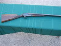 Finely Made Classic 12 Gauge Double Barrel Belgian Shotgun