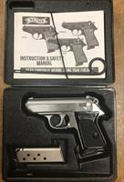 Walter PPK/S 380--Imported by S&W Walther PPK/S 380 ACP Stainless EXCELLENT CONDITION!